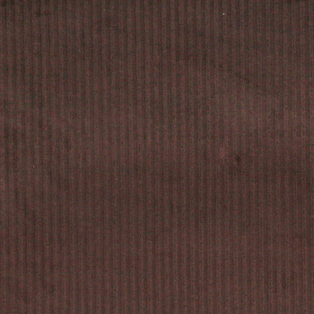 Dark Brown Stripe Corduroy Velvet Upholstery Fabric By The ...