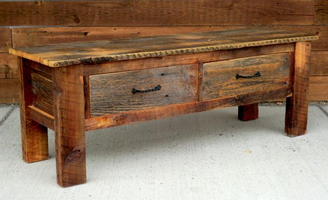 Rustic Furniture Portfolio traditional-indoor-benches