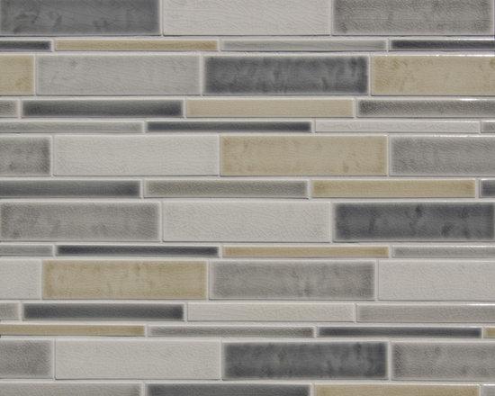New Grey Watercolor Glazes on Multi-random Rectangles - Code, Description, colors: