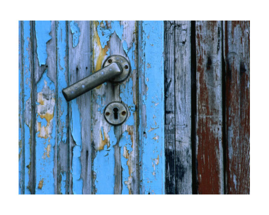 """""""Weathered Door, Handle and Lock"""" by Holger Leue -"""