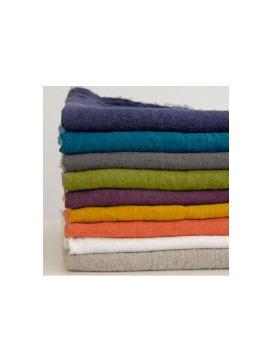 Edith Linen Throw Blanket -
