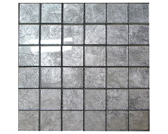W26 Aqua Glass Mosaic - Aqua Glass Mosaic