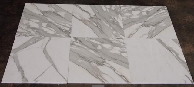 "Calacatta Gold 18"" x 18"" wall-and-floor-tile"