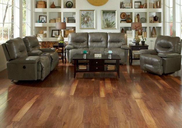 Engineered American Walnut Hardwood Flooring By Lumber