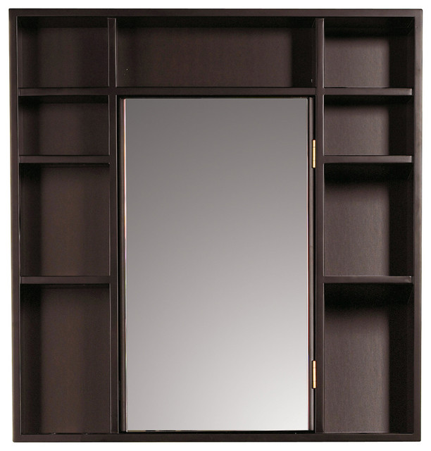 ... Double Sided Mirror - Contemporary - Medicine Cabinets - by Overstock