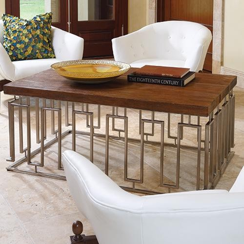 Global Views Pinned Key Cocktail Table traditional-coffee-tables