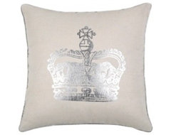 Victoria Neutral Pillow contemporary-pillows