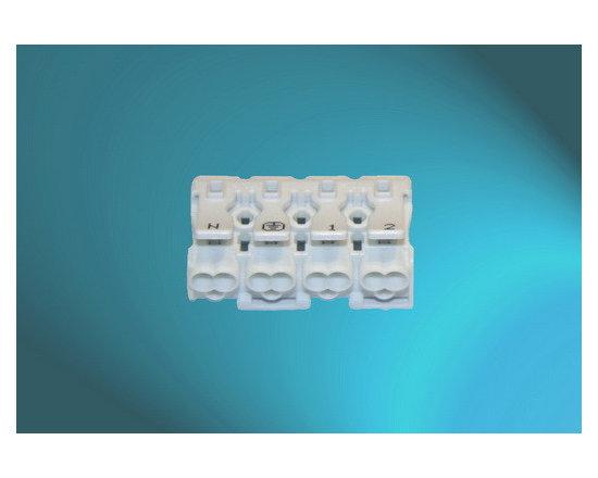 Pushwire Terminal Blocks (4Pole-White) -