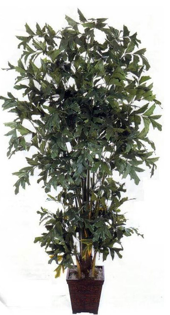 8' Fishtail Palm Artificial Tree asian-artificial-flowers-plants-and-trees