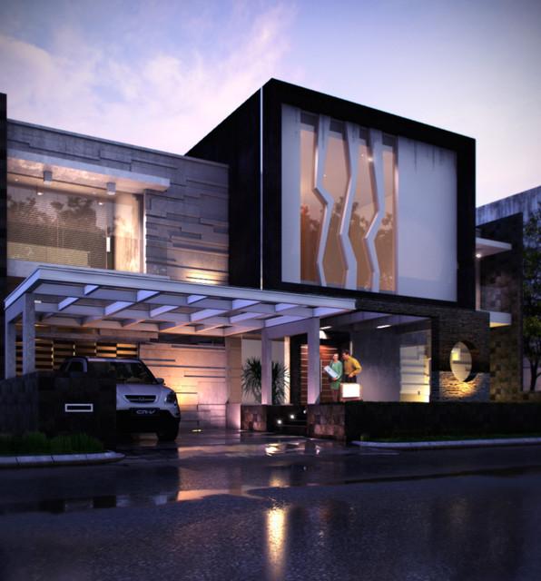 Exterior Design modern-exterior-elevation