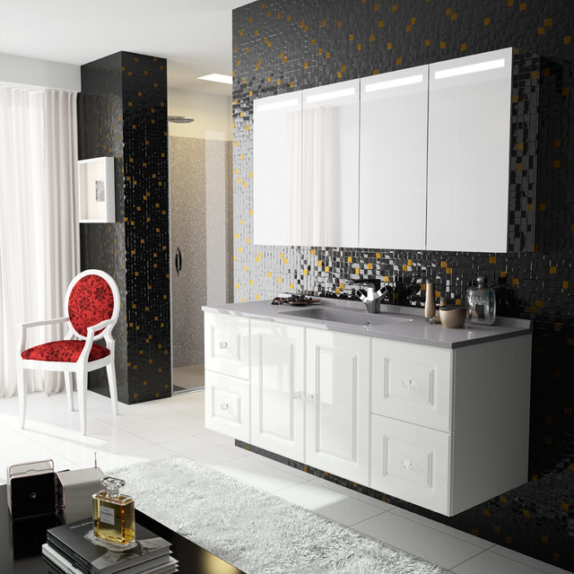 MYSTA BY AMBIANCE BAIN modern-bathroom-vanities-and-sink-consoles