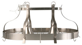 2-Light Portfolio Brushed Nickel Chandelier traditional-chandeliers