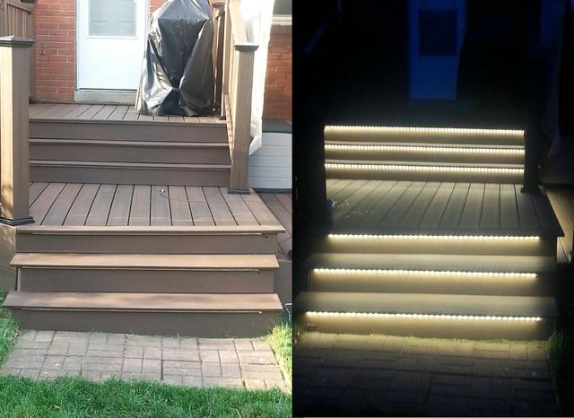 Inspired LED Outdoor Lighting- Stair Lighting