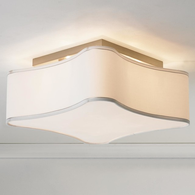 Soft Modern Puzzle Shade Ceiling Light By Shades Of Light