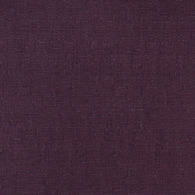 Purple Textured Solid Woven Jacquard Upholstery Drapery