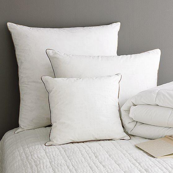 Organic Euro Pillow - Modern - Bed Pillows - by West Elm