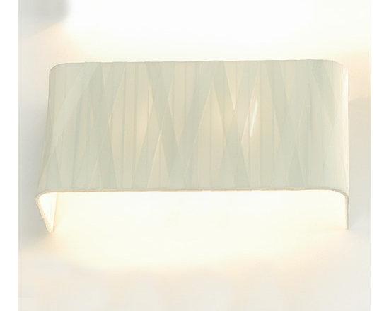 Fambuena - Dress Rectangular Wall Sconce   Fambuena - Design by Jehs + Laub, 2007.