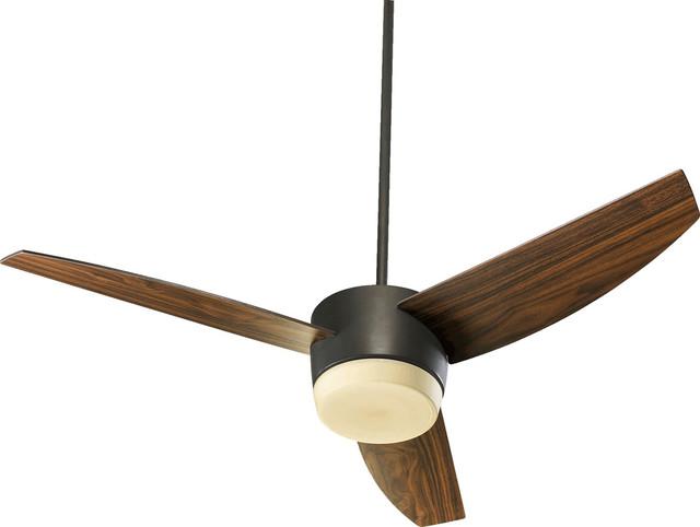 "Quorum 20543-986 Trimark 54"" 3 Blade Fan - Ob contemporary-ceiling-fans"