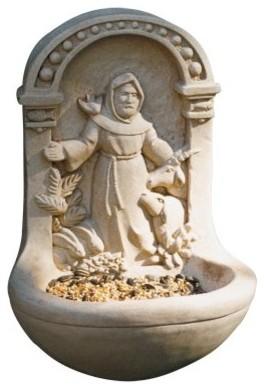 St. Francis Birdfeeder modern-bird-feeders