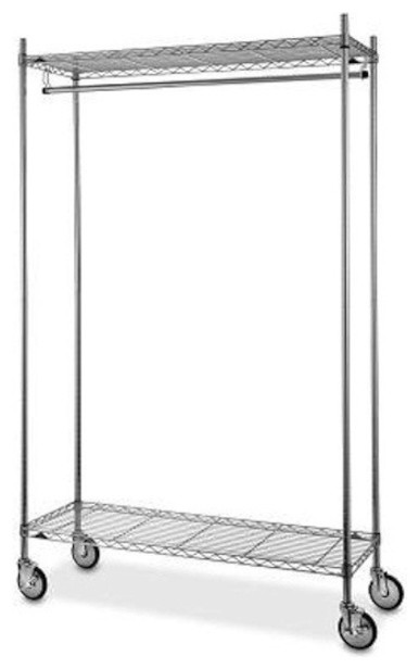 Metro Shelving Garment Rack - Modern - Clothes Racks - by ...