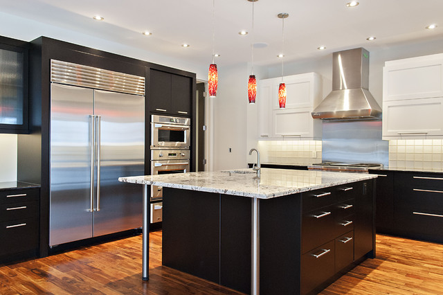 Ravine View contemporary-kitchen