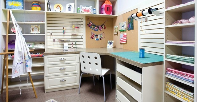 Craft Rooms, Sewing Rooms by Closet Factory
