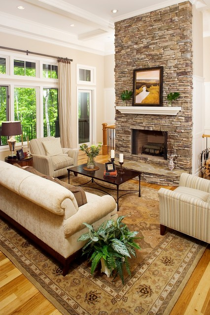 Cliff's Moutain Park contemporary-living-room