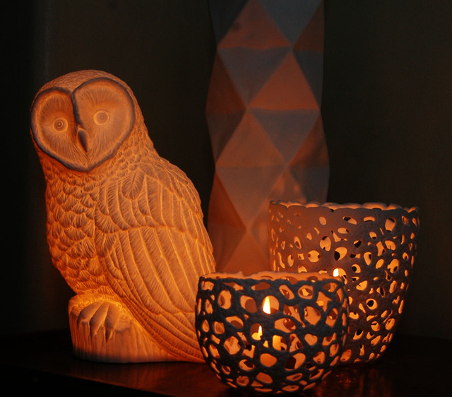 Ceramic Lamps, Candle Holders & Vases - Traditional ...