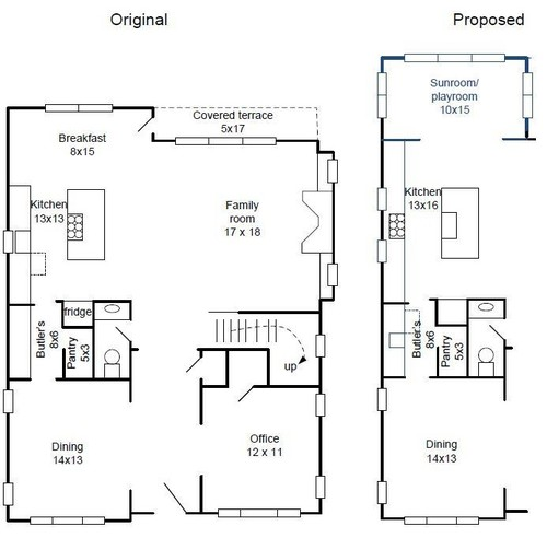 Am i crazy to consider placing lone dishwasher in butler 39 s pantry - Dishwasher small space plan ...