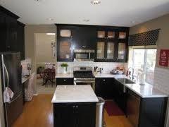 ESPRESSO SHAKER contemporary-kitchen-cabinets