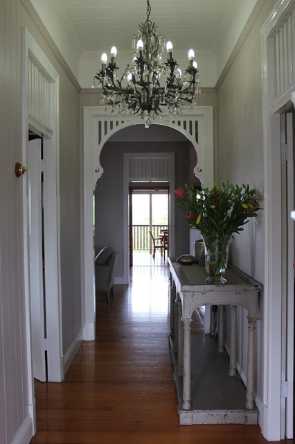Queenslander Entrance Traditional Brisbane By Charcoal Interiors