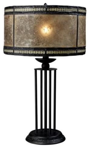 Dimond D1849 Mica Filigree Table Lamp traditional-table-lamps