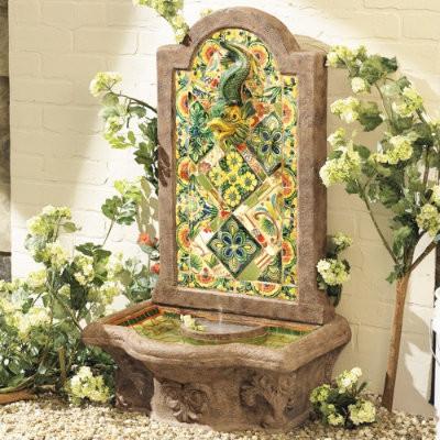 Chianna Fountain mediterranean-outdoor-fountains