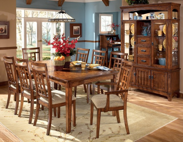 Ashley Cross Island Dining Room Collection Farmhouse Dining Tables New
