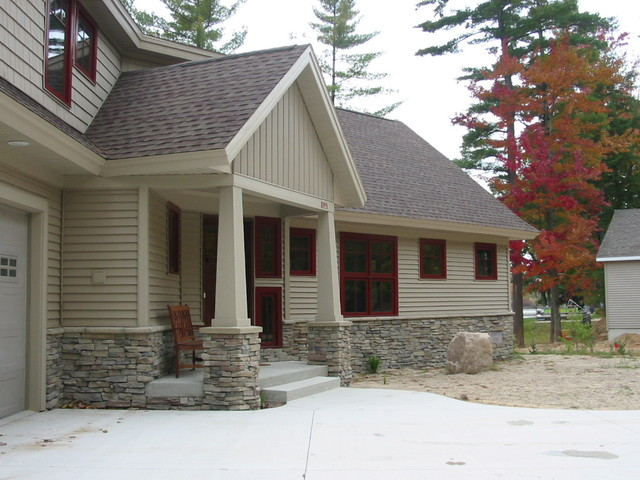 Horsehead Lake Cottage craftsman-exterior