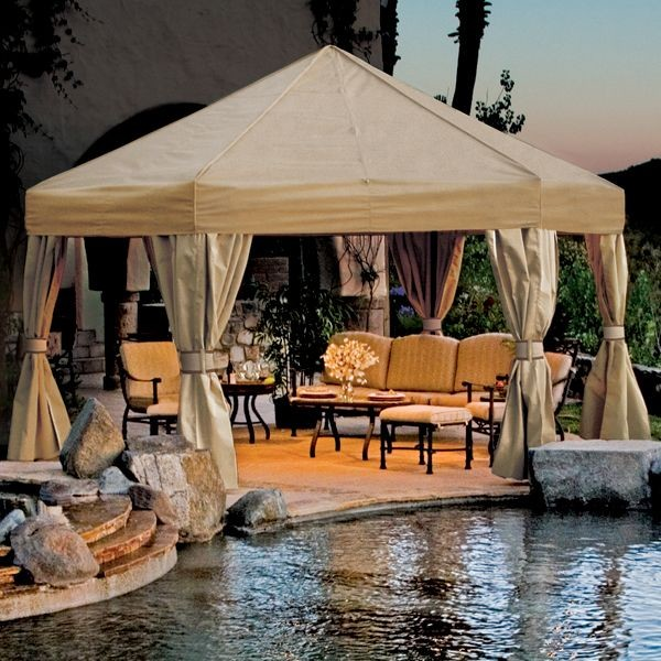 Villa Outdoor Gazebo - gazebos - chicago - by Home Infatuation