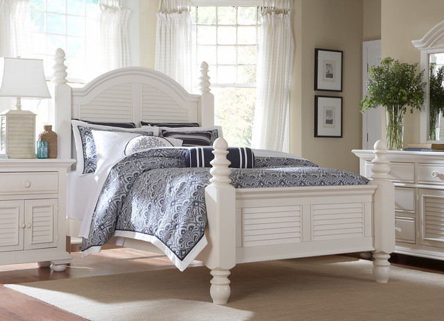 Cottage retreat ii master bedroom beds other metro by havertys furniture Cottage retreat bedroom set