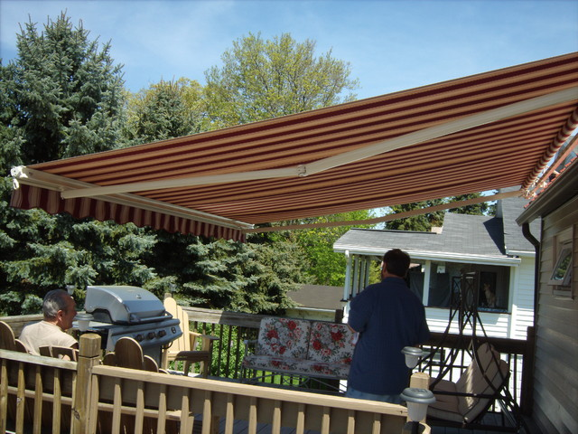 awnings retractable and fixed sunshades traditional