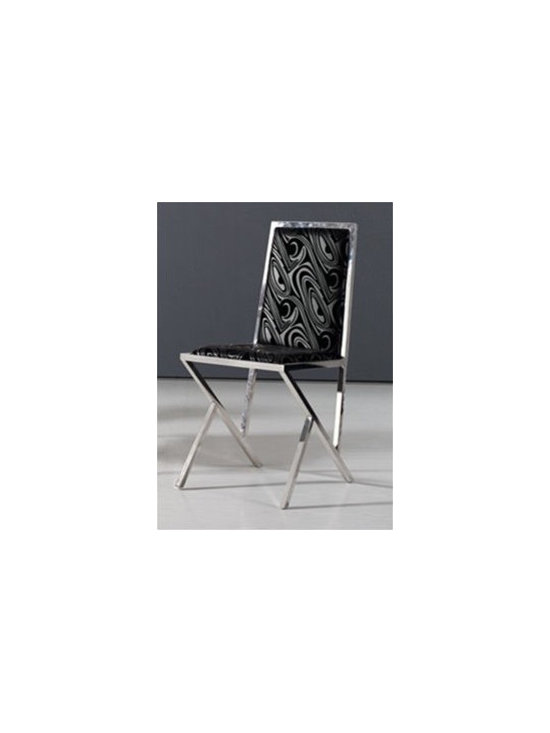 Jolan Contemporary Dining Chair - This Jolan Contemporary Dining Chair brings a refreshing and sophisticated influence to any dining room furniture collection.