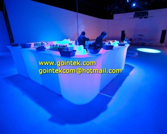 LED Bar Counter for evening Party -