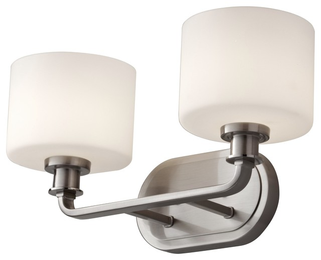Wall Sconces Transitional : Murray Feiss Kincaid Transitional Wall Sconce X-SB-20092SV - Transitional - Wall Sconces - by ...