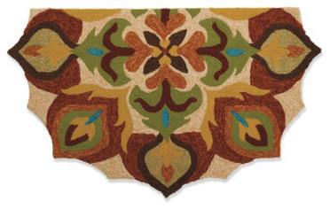 Mirabel Half-round Mat traditional-doormats