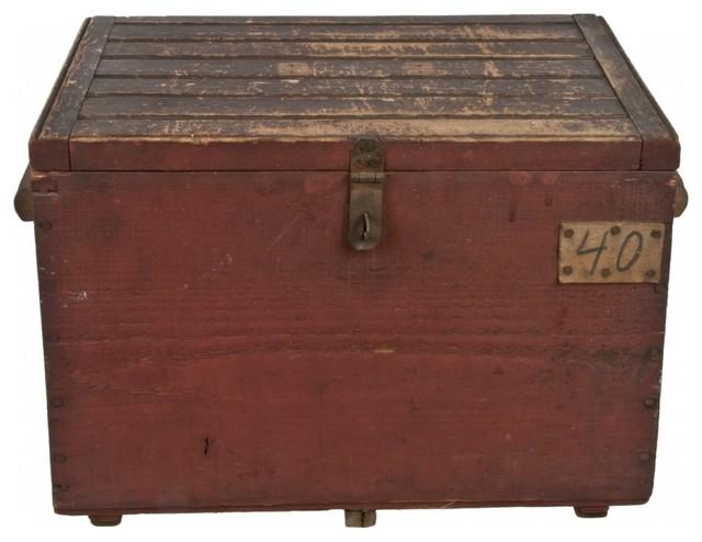 Wood Storage Box eclectic-furniture