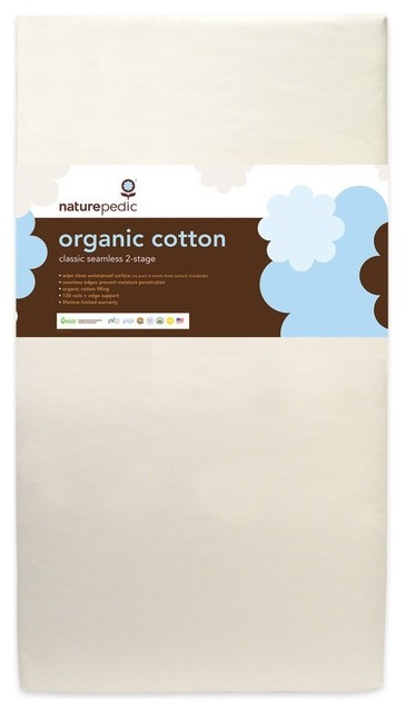 Naturepedic 2 In 1 Organic Mattress Naturepedic Deluxe Quilted Organic Cotton Twin Mattress | Bed Mattress ...