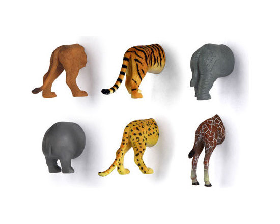 Animal Butt Magnets -