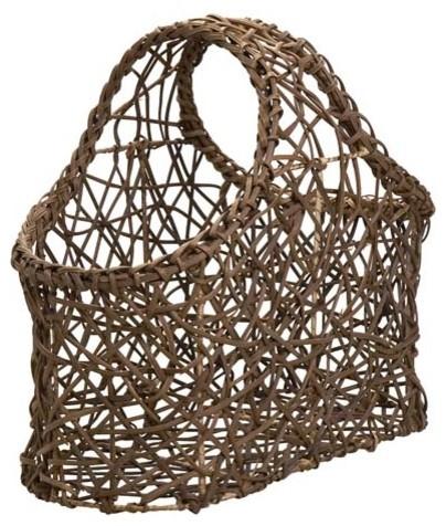 Tilob Vine Magazine Basket contemporary-magazine-racks