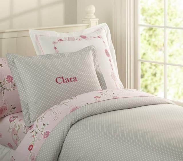 Organic Mini Dot Duvet Cover modern-kids-bedding