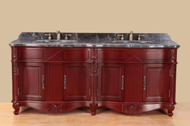 Five Bosconi T Eight Classic Double Bathroom Vanity