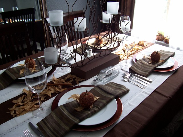 Fall - Thanksgiving Tablescape