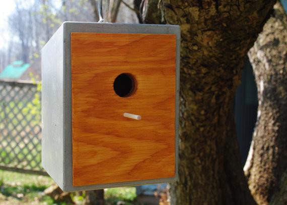 Concrete Birdhouse By Ferguson Mireault Concrete Design